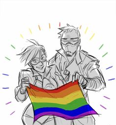 The two Gays👌🏼 Overwatch Comic, Overwatch Memes, Overwatch Fan Art, Solider 76, Overwatch Wallpapers, Widowmaker, Team Fortress 2, Paladin, Cool Artwork