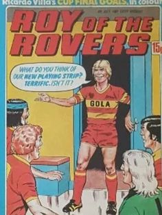 Roy Race unveils the new Melchester Rovers kit