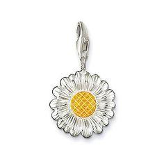Thomas Sabo Charm Daisy Charm Yellow  Market price: $75.99