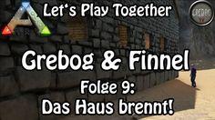 Ark: Survival Evolved - Grebog & Finnel - Folge 9: Das Haus brennt! (deu...