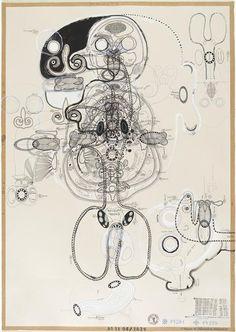 Plny Lubos (né en 1961), Sans titre – Paris, Centre Pompidou - Musée national d'art moderne - Centre de création industrielle