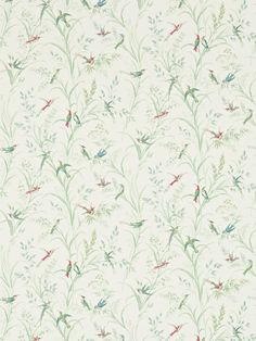 Buy Tuileries Willow / Multi, a feature wallpaper from Sanderson, featured in the Fabienne Wallpapers collection from Fashion Wallpaper. Free delivery on all UK orders. Fabric Wallpaper, Wallpaper Roll, Bedroom Wallpaper, Wild Grass, Feature Wallpaper, Painted Rug, Fashion Wallpaper, Green Backgrounds, Yurts