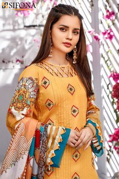 Sleeves Designs For Dresses, Neck Designs For Suits, Neckline Designs, Blouse Neck Designs, Designer Kurtis, New Designer Dresses, Indian Designer Outfits, Simple Pakistani Dresses, Pakistani Fashion Casual