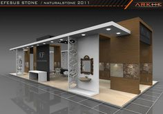 Efesus Exclusive Exhibition Stand Design @ Fair istanbul Turkey | Arkhe Mimarlık http://www.fairistanbulturkey.com/project.aspx?projeId=27