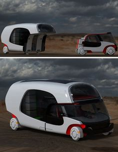 How cool is this camper / #luxury sports cars #ferrari vs lamborghini…