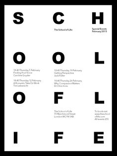 Image result for school of life posters