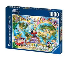Disney World Map 1000 Piece Jigsaw Puzzle Featuring the entire Disney Family: Disney Princess, Donald Duck, Mickey Mouse, Peter Pan and many more! Ravensburger,http://www.amazon.com/dp/B0000AP6EJ/ref=cm_sw_r_pi_dp_-7HYsb150NY50ANY