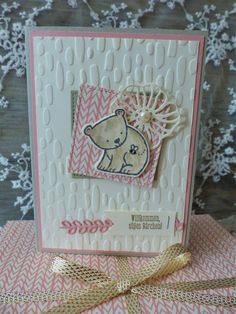 Bastelzauber by Dani: Animal Congratulations # GDP095 Stampin' Up! A Little Wild,  Little Loves Framelits, Eclectic Layers Thinlits Dies