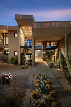 modern exterior by Tate Studio Architects