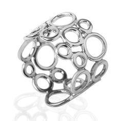 Bubble+silver+ring+by+LiatWaldmanJewelry+on+Etsy,+$77.00