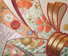 Noshii. Click through to the Japanese Embroidery Guild site for fantastic pictures of world class needlework.