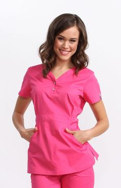 The koi Justine Top is one of our best sellers! Because it is a longer length top with makes any woman's waist look amazing. The koi Justine top is used by women looking for nursery uniforms, childcare uniforms, dental uniforms or dental scrubs. Healthcare Uniforms, Medical Uniforms, Koi Scrubs, Cute Scrubs, Scrubs Uniform, Scrubs Outfit, Dental Scrubs, Medical Scrubs, Nursing Clothes
