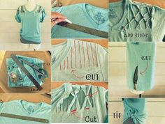 The 13 best t shirt ideas images on pinterest upcycled clothing diy shirt diy diy crafts do it yourself diy art diy tips diy ideas easy diy diy crafts ideas easy craft craft clothes craft shirt diy fashion solutioingenieria Gallery