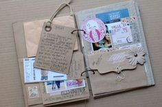 DIY Crafts | Vintage Style Scrapbook | This has given me great inspiration for my own scrapbook