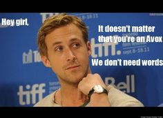 Love Ryan Gosling and The Hunger Games!