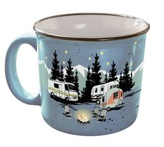 Just in time for Christmas, enter to win one of Camp Casual's retro-inspired camping mugs. But hurry before this giveaway is gone!