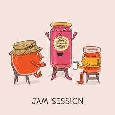 Dings & Doodles Is One Artist's Charming Portrayal Of Common Idioms ~ Creative Market Blog