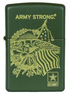 ZIPPO ARMY CONCEPT - GREEN MATTE