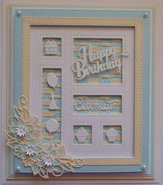 Happy Birthday Shadow Box