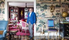 """Designer Alex Papachristidis """"It was really about creating classic spaces that worked for us and how we would use them."""""""