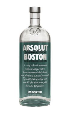 25 Absolut Editions -  Absolut Boston - The Dieline -