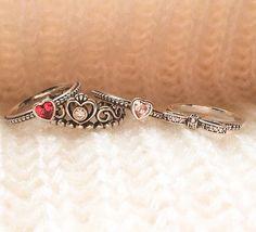 4 beautiful pandora rings