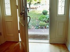 How to Replace the Sidelight Windows by the Front Door Sidelight Windows, Front Doors With Windows, Bait And Switch, How To Make Curtains, Kitchen Doors, Selling Your House, Entry Doors, Front Entry, Front Porch