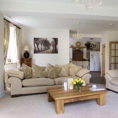 Neutral living room  Living rooms  Living room ideas