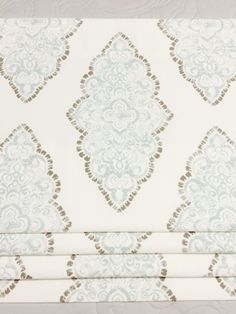 Your choice of fabric (up to 10 dollars/yard) included! Premier Prints Monroe Snowy - AllAbout Home! Swatch, Faux Roman Shades, Premier Prints, Ribbon Colors, Needle And Thread, Stores, Curtain Rods, Grosgrain Ribbon, Etsy