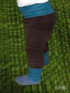 Pumphose, Spielhose in kurz oder lang nähen - Tutorial zum erstellen eines eigenen Schnittmusters