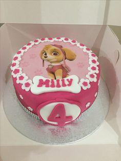 Skye paw patrol cake my stuff in 2019 торт Skye Paw Patrol Cake, Sky Paw Patrol, Paw Patrol Party, Paw Patrol Birthday Cake, 4th Birthday Cakes, Toddler Birthday Gifts, Baby Birthday, Lolly Cake, Girl Cakes