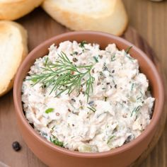 An easy and delicious appetizer dip recipe that is so quick and satisfying.. Salmon Dip Recipe from Grandmothers Kitchen.