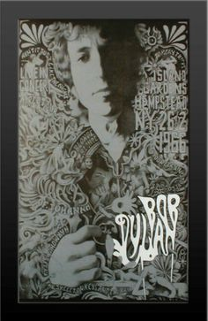 Bob Dylan Live World Tour Hempstead NY Concert Framed Poster Print LIMITED RARE