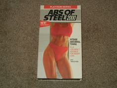 ABS of Steel 2000 (VHS, Sports, Workout, Physical Fitness, Aerobics, Platinum)