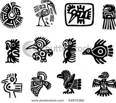 stock-vector-set-of-mexican-motifs-birds-64970386 (450x400, 61Kb)