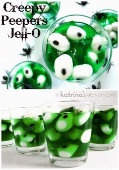 house of paint.: Have a Jello Halloween! ~♥ #halloween #recipes