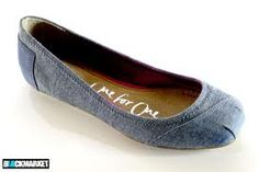 Denim ballets - very versatile #denim #shoes #balletflats