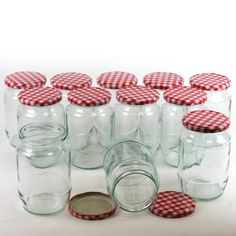Tala Preserving Jar Set Gingham 900G | Hobbycraft