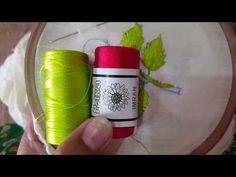 hand embroidery Brazilian for Romanian stitch Design - YouTube