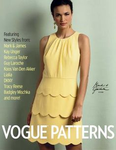Vogue Patterns Summer 2014 Collection Lookbook