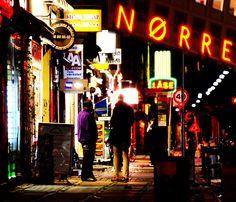 Nightlife in Nørrebro, Copenhagen