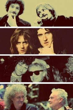 These Are Awesome Photos! Queen's Roger Taylor And Brian May. 🥰🥰