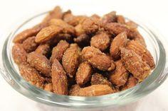 Maple Cinnamon Almonds