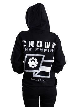 ceb19066326719 Crown The Empire - Flag - Zipper - Official Post Hardcore Merchandise  Online Shop - Impericon