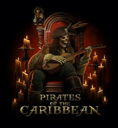 Pirate and guitar