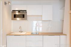 une cuisine semi ouverte au profil moderne et lumineux cuisine semi ouverte bonnes id es. Black Bedroom Furniture Sets. Home Design Ideas