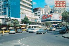 Plaza Venezuela 1960s