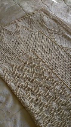 Eric's Blanket Knitting Pattern