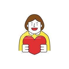 ILL161, 프리진, 일러스트, 생활, 사람, ILL161, 캐릭터아이콘, 캐릭터, 인물, 손짓, 상반신, 손가락, 핸드모션, 동작, 청년, 여성, 여자, 이벤트, 하트, 사랑, illust, illustration #유토이미지 #프리진 #utoimage #freegine 20066796