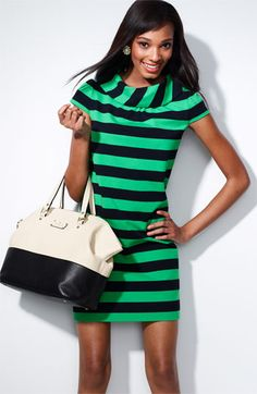Two of my favorite colors and of course my number one obsession...stripes